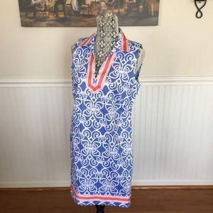 Vineyard Vines Ribbon Trim Dress
